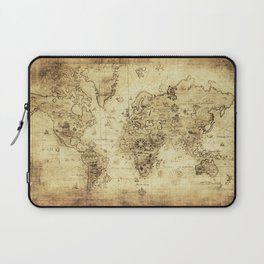 Old World map Laptop Sleeve