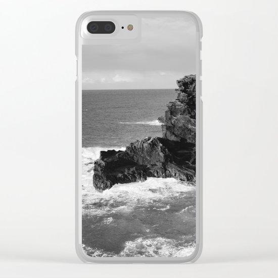Oahu Hawaii VI Clear iPhone Case