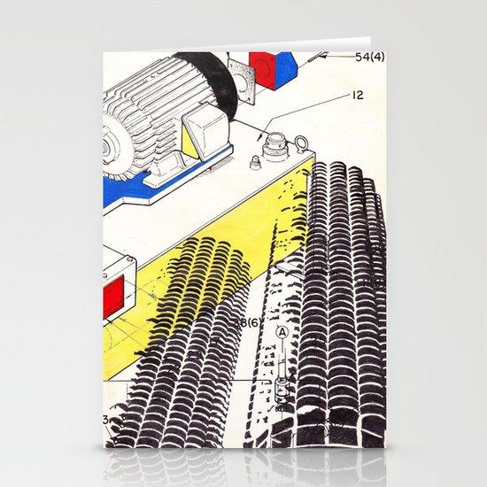 Marina City Stationery Cards