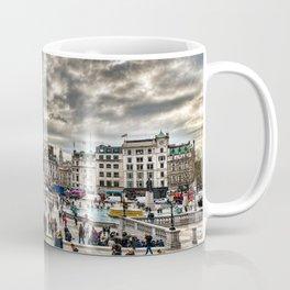 London Trafalgar Square art by @balazsromsics Coffee Mug