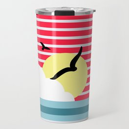 The early bird catches the worm. Travel Mug