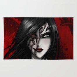 The broken doll - Masquerade Rug