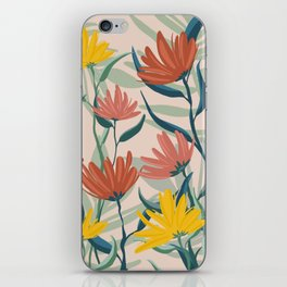 Floral I iPhone Skin