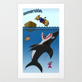 Inmersión Art Print