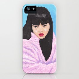 Pinky gurl iPhone Case
