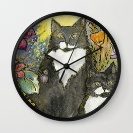 Silly & Kitch Wall Clock