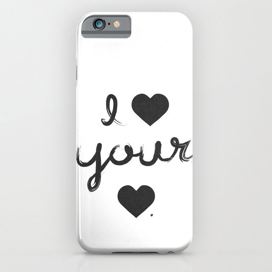 i heart your heart iPhone & iPod Case