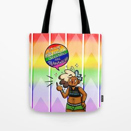 Whiny Hypermasculine Queerphobes Are Trash V1 Tote Bag