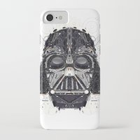 darth iPhone & iPod Cases featuring darth vader by yoaz