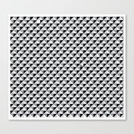 Pattern_1 B&W Canvas Print