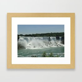 American Falls Framed Art Print