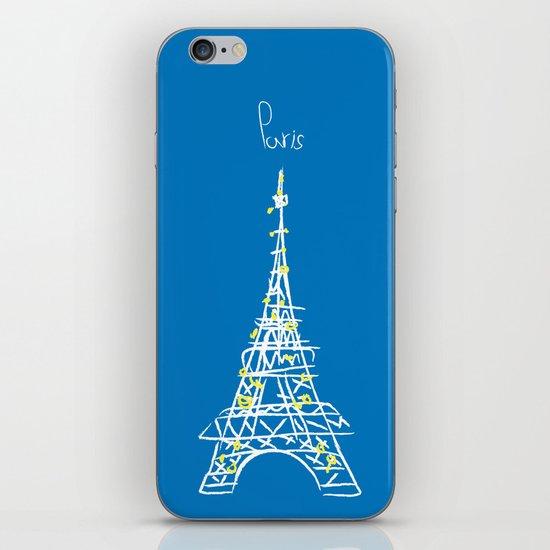 belle à Paris iPhone & iPod Skin