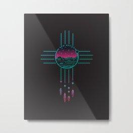 New Mexico Dream | Zia  Metal Print