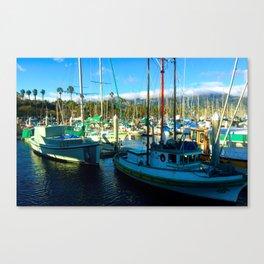 Santa Barbara Marina Canvas Print