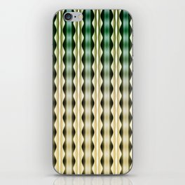Wavy Verticals iPhone Skin
