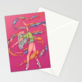 DANSEUSE AUX CERFS-VOLANTS Stationery Cards