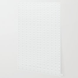 White Festive Christmas Snowflake Stripes Seamless Frost Wallpaper