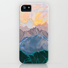 Kanto Sunset iPhone Case