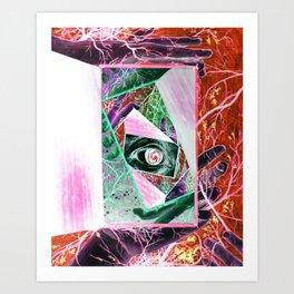 When Madness Strikes Art Print