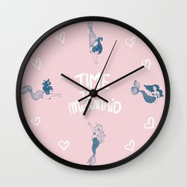 Salty souls Wall Clock