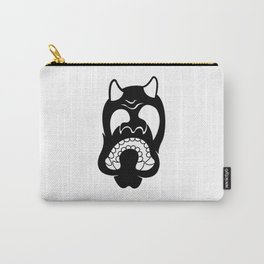 Hannya Silhouette Carry-All Pouch