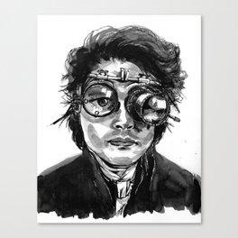 Ichabod-Depp Canvas Print