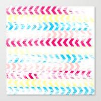 arrow Canvas Prints featuring Arrow by Louise Machado