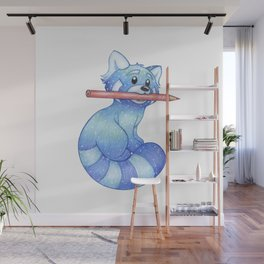 Muse, The Blue Panda Wall Mural