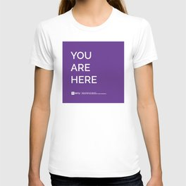 YOU ARE HERE [Gotham Violet] T-shirt