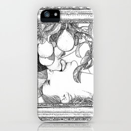 asc 264 - La gourmandise (The sweetmeat) iPhone Case
