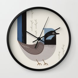 Superb Fairywren, Bird of Australia Wall Clock