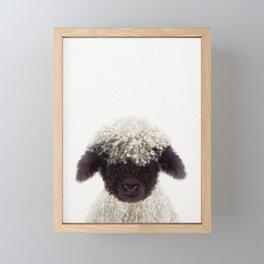Baby Lamb, Baby Animals Art Print By Synplus Framed Mini Art Print