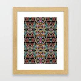 enter the dragon Framed Art Print