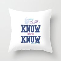 notorious Throw Pillows featuring  Notorious BIG by fluxographix
