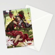 DREAMING AVA. Stationery Cards
