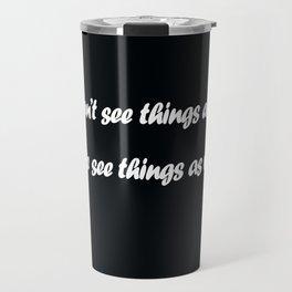 Anais Nin Travel Mug