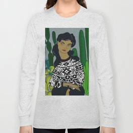 She will tell the story Long Sleeve T-shirt