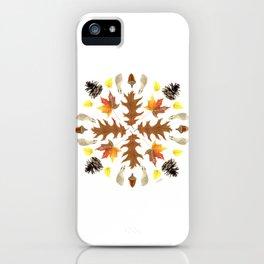 Tree Mandala 2 - Watercolor iPhone Case
