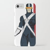 cyclops iPhone & iPod Cases featuring Cyclops by Andrew Formosa