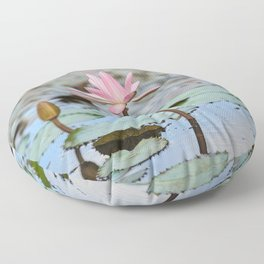 Water Lily, IV Floor Pillow
