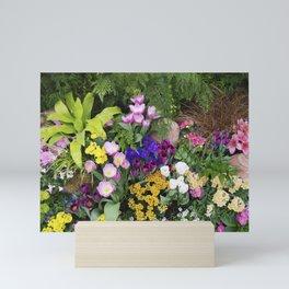 Floral Spectacular - Spring Flower Show Mini Art Print