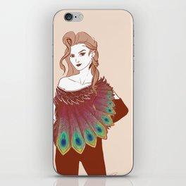 GIRL IN PINK iPhone Skin