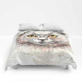 Scottish Fold Cat Comforters