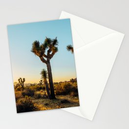 Last Light at Joshua Tree Stationery Cards
