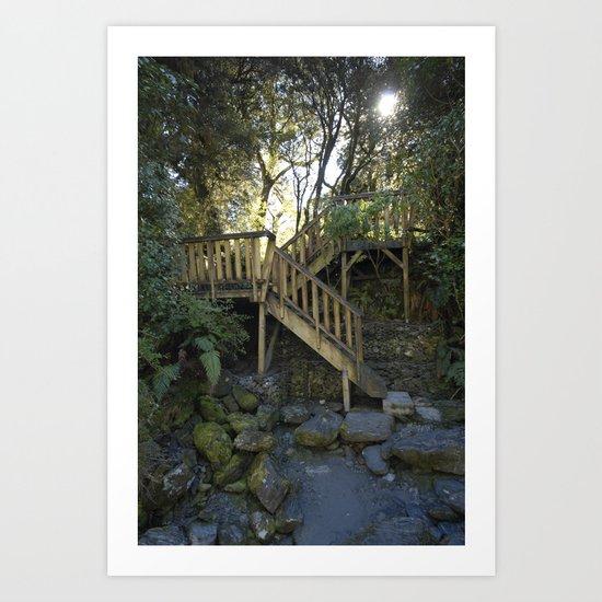 The Stair Art Print