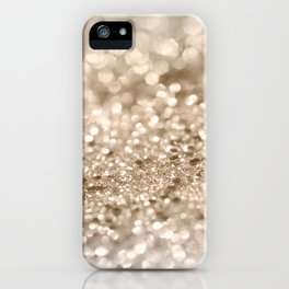 Gold Lady Glitter #2 #shiny #decor #art #society6 iPhone Case