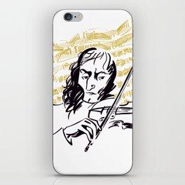 Paganini (3) iPhone Skin