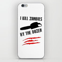 zombie funny iPhone Skin