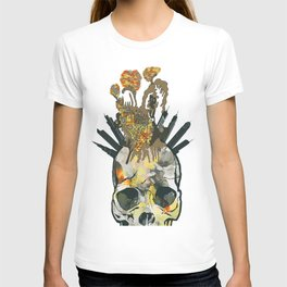 Skull and crazy city T-shirt