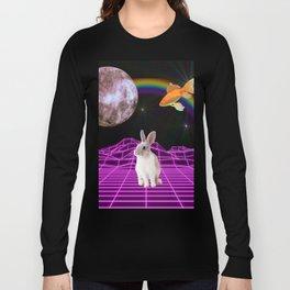 Vaporwave bunny Long Sleeve T-shirt